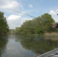 La pêche du silure au leurre en bateau