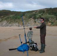 Pêche en bord de mer - Surfcasting : bien débuter