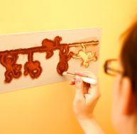 Utiliser un pochoir pour peindre