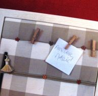 Comment fabriquer un pense-bête en carton ?