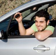Après l'examen du permis de conduire