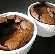 Recette des petits fondants au chocolat