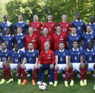 Photo officielle de l'équipe de France de football 2014