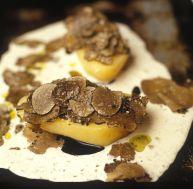 Pomme de terre aux truffes © Restaurant Bruno