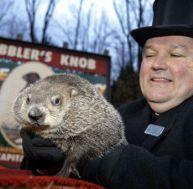 Le jour de la marmotte à Punxsutawney en Pennsylvanie