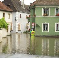 Remise en état d'une maison inondée