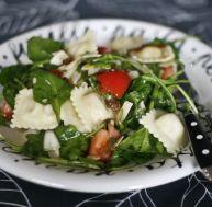 Salade de raviolis frais