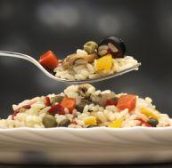 Recette de la salade de riz au poulet