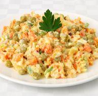 Recette de la salade russe