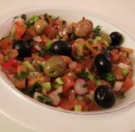 Recette de la salade tunisienne