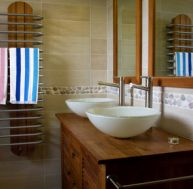 Style marin salle de bain marine - Deco salle de bain leroy merlin ...