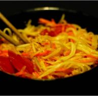 La salade de papaye verte Som Tam