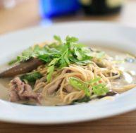 Recette de la soupe thai aux nouilles et au boeuf