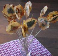 Recette des sucettes croustillantes aux crevettes et au basilic