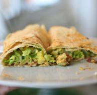 Tacos roulés au boeuf
