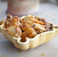 Recette du tajine de poulet au fenouil et à l'orange