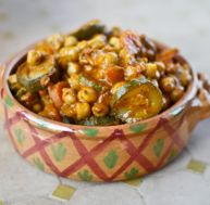 Tajine de pois chiches
