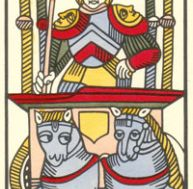 Tarot de Marseille - VII - Le Chariot