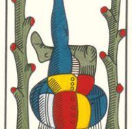 Tarot de Marseille - XII - Le Pendu