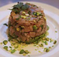Recette du tartare de thon croquant au wasabi