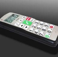 Téléphone pour personnnes âgées Big Easy Fitage (c)