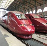 Un Thalys à l'arrêt en Gare du Nord, à Paris - wikimedia CC. / Ale Sasso