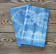 Serviettes de table tie and dye