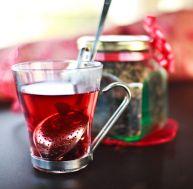 Ingrédients pour une tisane de Noël