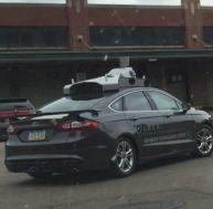 Uber a opté pour des Ford Mondéo pour les premiers essais de sa voiture autonome - copyright Uber