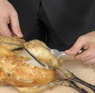Vider un poulet