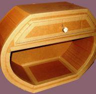 Vitrifier un meuble en carton