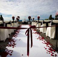 Un mariage en plein air