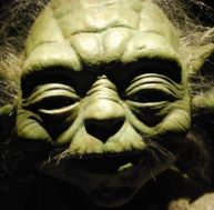 Yoda en clair obscur - copyright Flickr