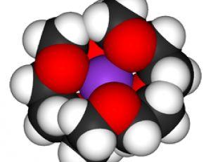 Molécule de potassium