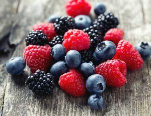 Les fruits rouges sont très bons pour votre peau.