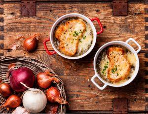 La soupe à l'oignon : plat emblématique