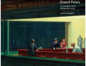 Affiche de l'exposition Hopper © Grand Palais