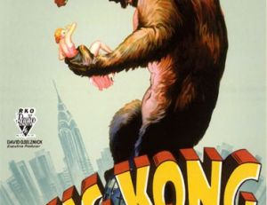 Affiche de la version de King Kong de 1933