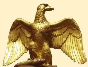 Une aigle napoléonienne
