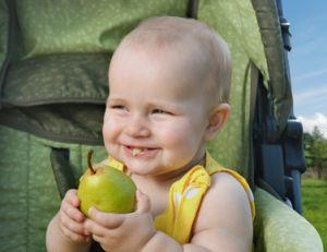 Alimentation de bébé à 1 an