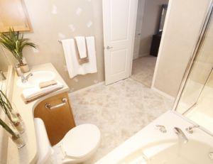 Aménager la salle de bains de personnes âgées