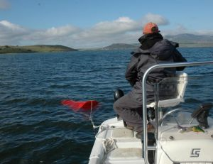 L'ancre flottante permet de réduire la vitesse de la dérive
