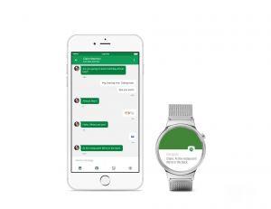 Android Wear est désormais compatible avec l'iPhone (à partir de la génération 5) - copyright Google