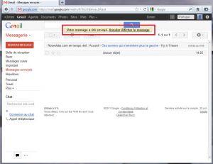 La boîte de messagerie Gmail permet dorénavant d'annuler l'envoi d'un mail...