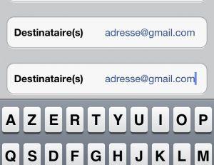 Entrez votre adresse mail deux fois