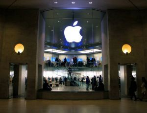 Vue de l'Apple Store du carrousel du Louvre - copyright Flickr CC.