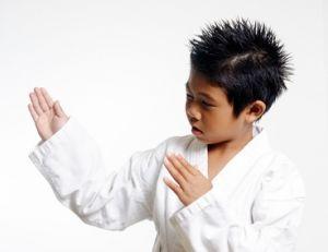 Initier son enfant aux arts martiaux