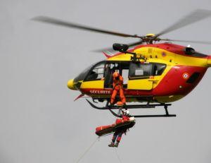 Rapatriement en hélicoptère