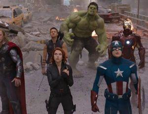 Image tirée du premier volet d'Avengers - copyright Paramount Pictures