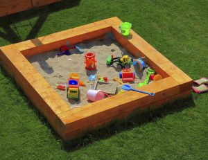 Fabriquer un bac à sable soi-même